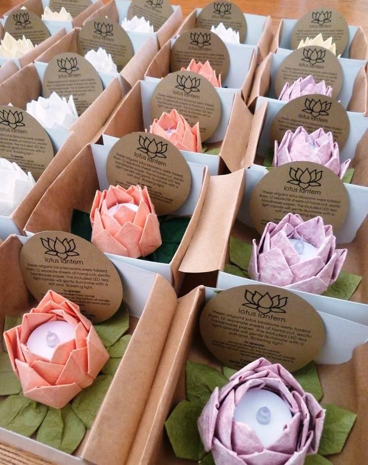 Favoloso origami per bomboniere fai da te, partecipazioni e inviti fai da te SS88
