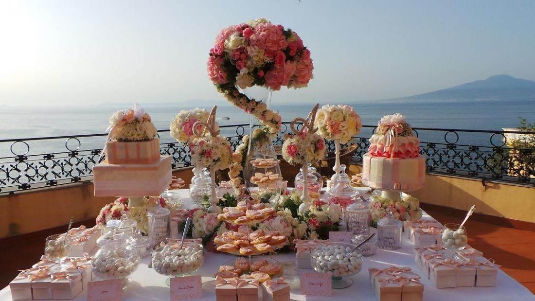 Centrotavola Matrimonio Tema Dolci : Centrotavola per matrimonio