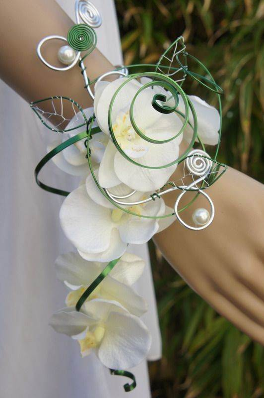 Molto Bouquet sposa 2016: un bracciale di di fiori QK91