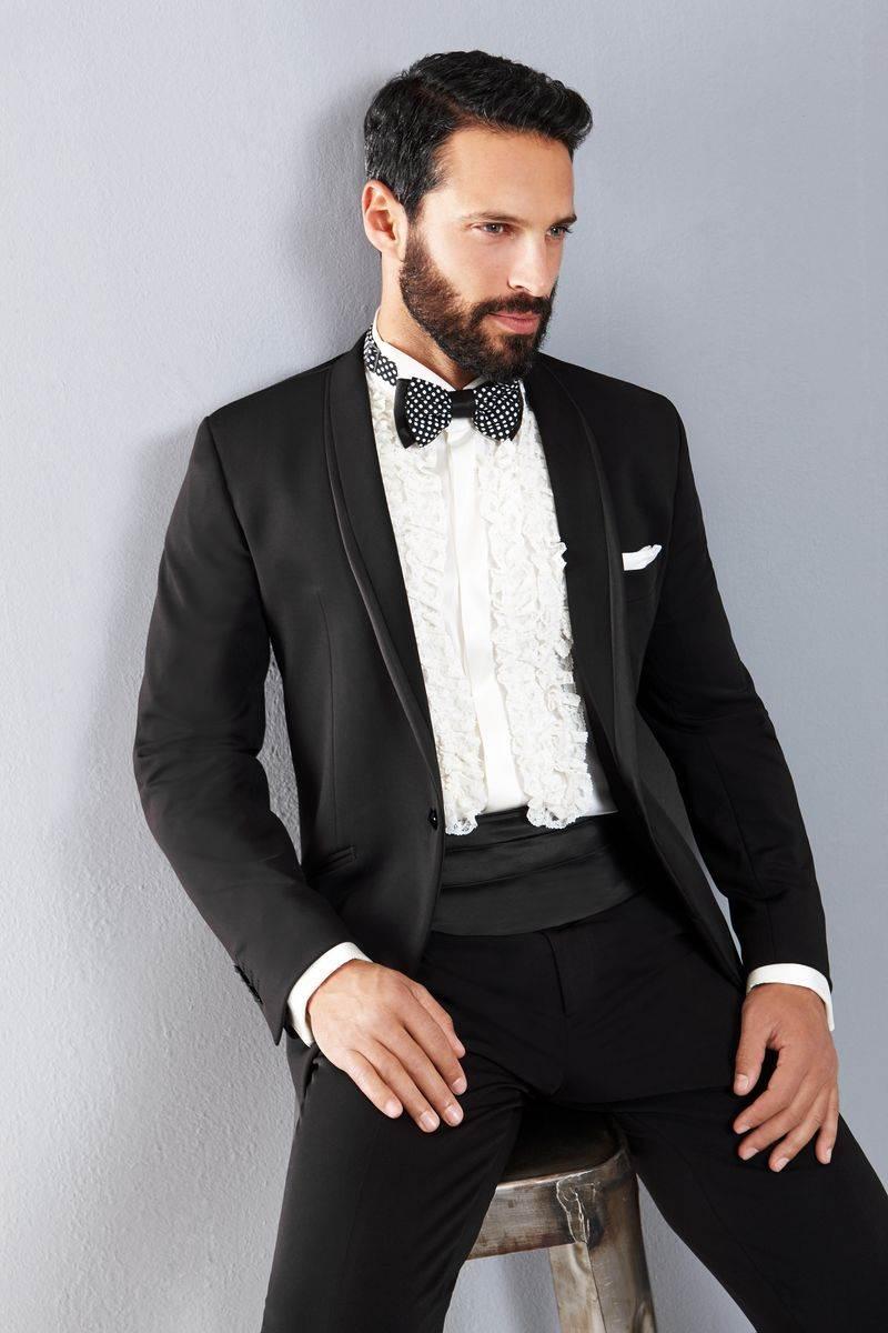 Vestito Matrimonio Uomo Nero : Fascia o cintura