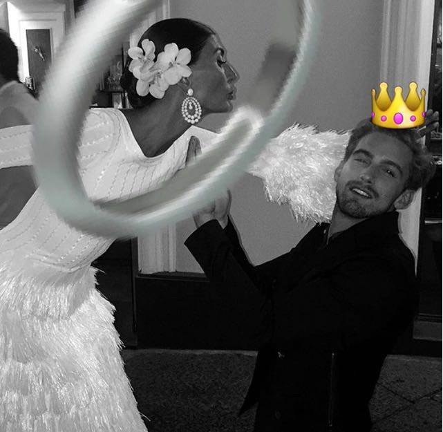 Giovanna Battaglia sposa Oscar Engelbert