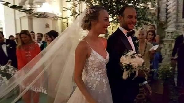 Matrimonio In Italiano : Matrimonio italiano. cristel carrisi sposa davor luksic a lecce