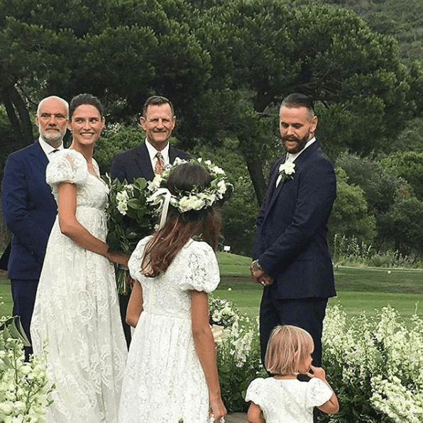 Matrimonio In America : Bianca balti sposa matthew mcrae weddings