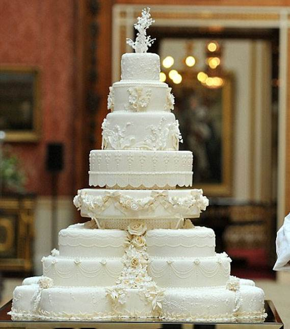 Molto 10 Wedding Cake spettacolari per 10 matrimoni Vip - Weddings PV93
