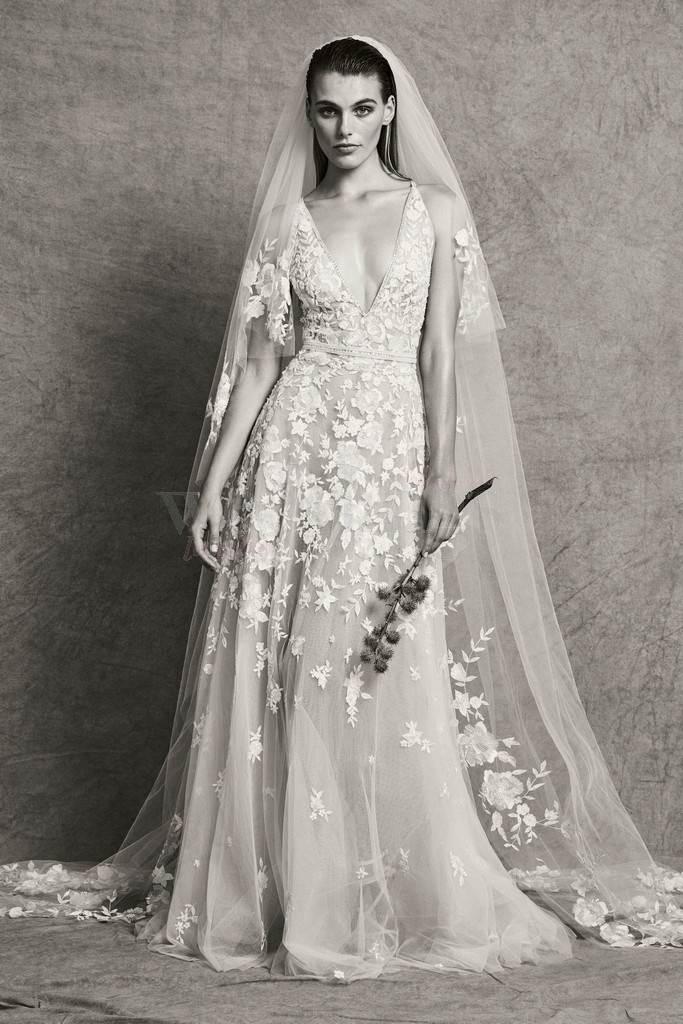 Favorito Zuhair Murad bridal fall 2018 Haute Couture di alto livello - Weddings GK23